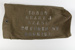 Kit Bag, WWII Jack Geary; Unknown manufacturer; 1939-1945; WY.0000.1071