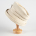 Hat, Cream Felt Hat; Unknown maker; 1950-1960; WY.0000.112