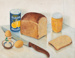 Oil Painting, Still Life with Breakfast [In Copyright]; Marshall, Jean; 1974-1988; WY.0000.727
