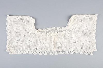 Collar, Crocheted Yoke   ; Unknown maker; 1900-1910; WY.0000.203