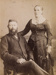 Photograph, Mr & Mrs Andrew Noble 'Cluny'; Dougall Photos Invercargill; 1860-1870; WY.1993.93.2