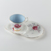 Cup and Saucer, Royal Albert Charmaine; Royal Albert; 1950-1960; WY.2007.1.16