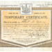 Certificate, Disability Pension; 1918; WY.2000.12.4.30