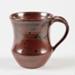 Mug, Brown Glazed Ceramic; Shields, Heather; 1970-1980; WY.2006.32.11