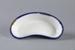 Dish, Small Enamel Kidney; Kockums; 1950-1960; WY.2003.11.30