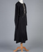 Dress, Black Wool Cut-Away Design; Unknown maker; 1930-1940; WY.0000.561