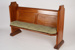 Pew, St Mary's Anglican Church; Unknown manufacturer; Unknown; WY.2007.29.3