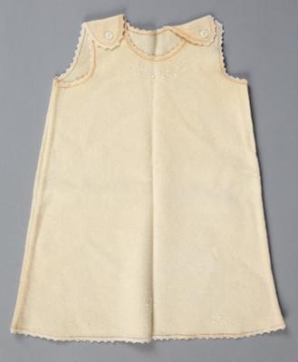 Petticoat, Baby's Woollen with Bullion Stitch; Unknown maker; 1930-1940; WY.0000.150