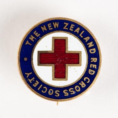 Badge, N.Z. Red Cross Society; Mayer & Kean Ltd Wellington; 1940-1950; WY.2003.11.71