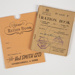 Archives, Ration Books and Coupons; 1945-1951; WY.2006.18