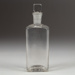 Bottle, Rectangular Medical; Unknown manufacturer; Unknown; WY.1996.59.45