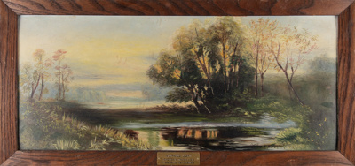 Oil Painting, Framed Veronica Trapski; Trapski, Veronica M; 1913; WY.1993.27