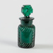 Bottle, Green Glass with Maltese Cross Stopper; Unknown manufacturer; 1920-1930; WY.0000.472