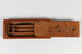Pencil Box, Wooden; Unknown manufacturer; 1955-1960; WY.1990.125