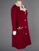 Dress, Maroon and Cream; Van Roli Ltd; 1960-1970; WY.0000.613