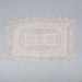 Centre Piece, Tatted Ecru Mat; Unknown maker; 1950-60; WY.0000.246