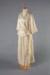 Wedding Dress, Cream Silk with Rosette; Unknown maker; 1920-1930; WY.0000.881