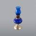 Lamp, Blue Oil Miniature; Unknown manufacturer; 1870-1920; WY.0000.1050