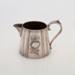 Milk Jug, Silver Plated; Unknown manufacturer; 1910-1920; WY.0000.1038