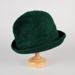 Hat, Green Mohair; Unknown maker; 1950-1960; WY.0000.59