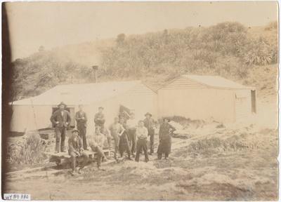 Photograph, Flaxmill Waitui Tuturau; Unknown photographer; 1890-1900; WY.1989.380