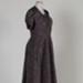 Dress, Purple Satin with Bolero; Unknown maker; 1950-1960; WY.2013.2.2