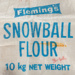 Bag, Fleming's Snowball Flour; Fleming & Co; 1970-1980; WY.0000.368