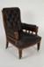 Chair, Black Arm; Unknown manufacturer; 1910-1920; WY.0000.902