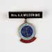 Badge, Inter-Dominion Championship Official Guest; Unknown manufacturer; 1961; WY.0000.637