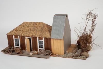 Model, Glenham Station Homestead; Unknown maker; Unknown; WY.0000.756