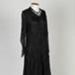 Dress, Black Lace and Chiffon; Unknown maker; 1930-1940; WY.2014.4.2