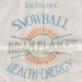 Bag, Fleming's Snowball Bran Flakes; Fleming & Co; 1930-1940; WY.1996.64.12