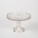 Cake Stand, Glass; Unknown manufacturer; 1905-1915; WY.1995.11.3