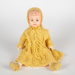 Doll, Yellow Knitted Clothes; Unknown manufacturer; 1950-1960; WY.2015.6.12