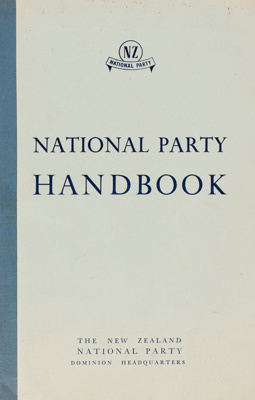 Archives, Seaward Downs National Party 1946-1970; 1946-1970; WY.0000.1252