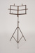 Music Stand, Brass Coloured; Unknown manufacturer; 1920-1930; WY.0000.1125