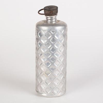 Water Flask, Aluminium; Bulpitt & Sons Ltd; 1930-1940; WY.0000.701
