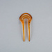 Hair Comb, Two Pronged Fork  ; Unknown manufacturer; 1930-1940; WY.1988.86.4