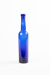 Bottle, Tall Narrow Blue; Unknown manufacturer; 1910-1920; WY.0000.371