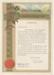 Certificate, Testimonial to Miss Helen Frew; Unknown; 10.10.1946; WY.1993.5