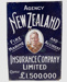 Sign, New Zealand Insurance Company; Geo. Hadfield & Co; 1930-1975; WY.0000.1467