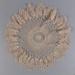 Doily, Crocheted Starburst Design; Unknown maker; unknown; WY.0000.135