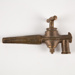 Spigot, Brass; Unknown manufacturer; 1860-1900; WY.1993.40.1