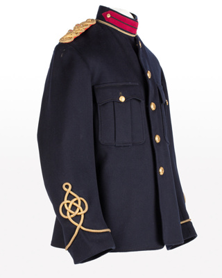 Tunic, Boer War, Captain J. E. Rogers; Hallenstein Brothers (HB); 1901-1902; WY.2002.15