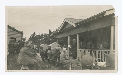 Photograph, Opening of Wyndham Plunket Rooms; Unknown photographer; 1929; WY.0000.978