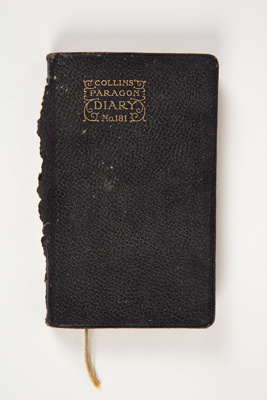 Diary, Collins Paragon Diary 1913; Unknown; 1913; WY.1995.70