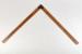 Set Square, L shaped; J Rathbone & Sons; 1890-1900; WY.1988.72.2