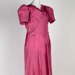 Dress, Pink Evening; Unknown maker; 1930-1940; WY.2009.09.40