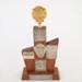 Trophy, Edendale Darts Club Husband & Wife Pairs; Coronet; 1972; WY.2008.19.22