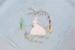 Tea Cloth, Crinoline Lady  ; Unknown maker; 1950-60; WY.0000.131